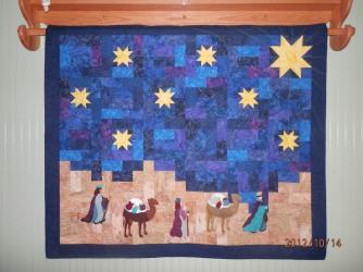 Adoration Quilt made 2012