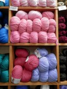Super Wool knits up nicely!