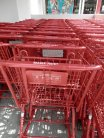 Love the bright red carts