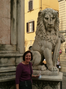 Dixie in Florence, Italy