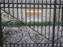 Lovely ironwork in San Antonio