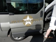 Overlord Tour Company van