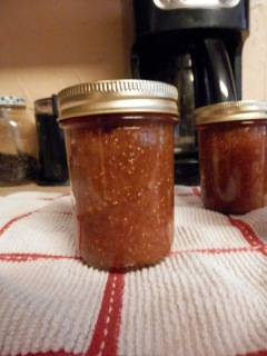 Made 5 jars fig preserves