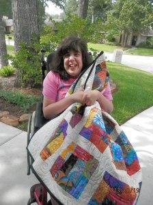 Mimi's flower garden quilt