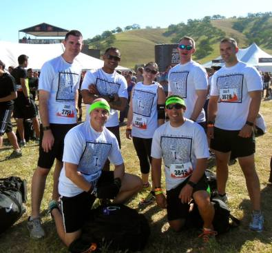 Ricky's first Tough Mudder