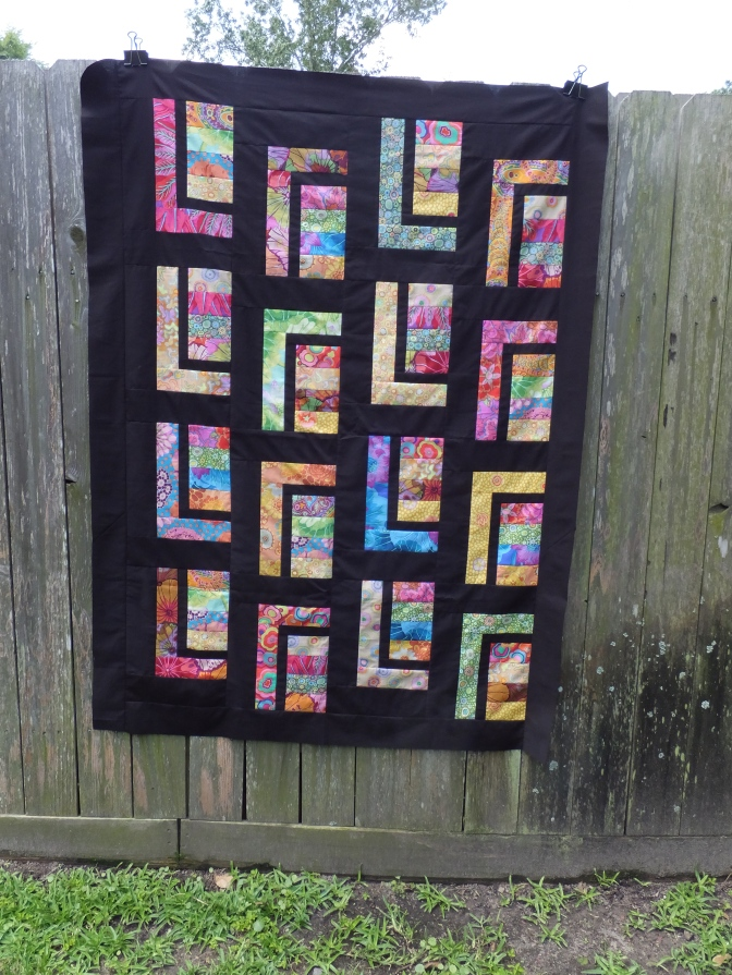 Quilt top is finished!
