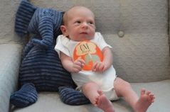 Jake 1 month old