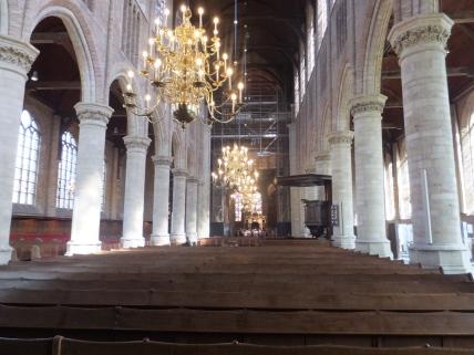 Interior of New Church