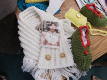 Lovely knitted items