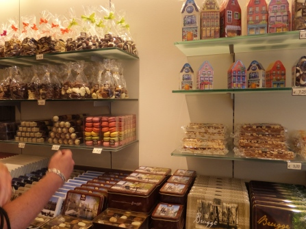 Just one chocolate shop