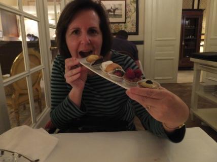 I did share dessert!