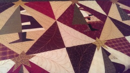More custom quilting