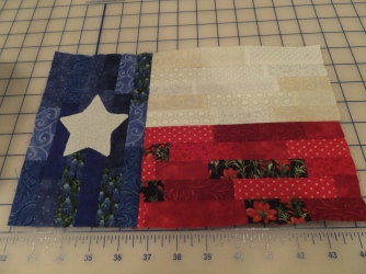 Texas flag completed!