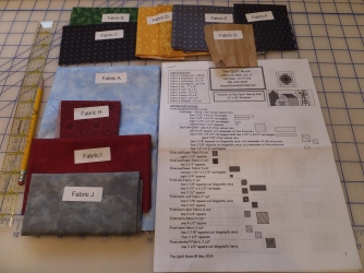 Pattern/Fabric for row block