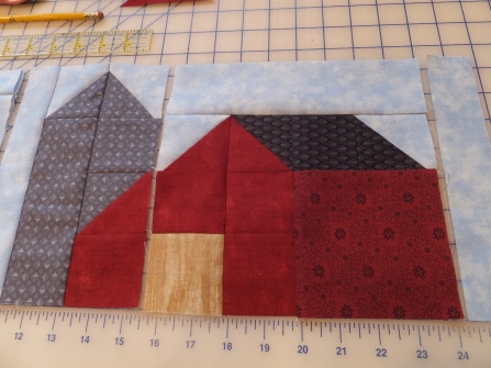 The Quilt Room pattern/fabric