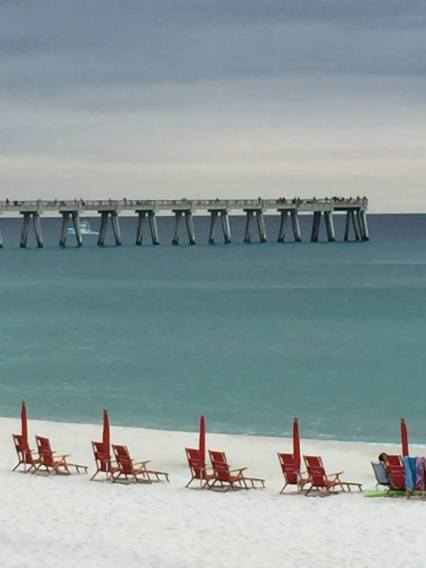 Pier at Navarre beach