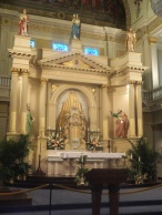 St. Louis Cathedral altar