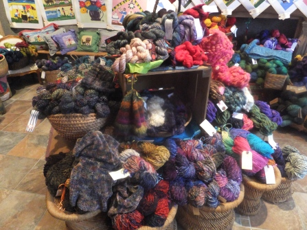 Yarn, yarn and more yarn!