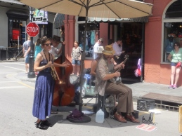 Great street music!