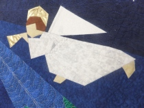 Angel quilting