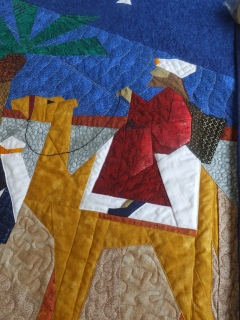 Quilting and details