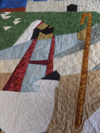 A little more quilting
