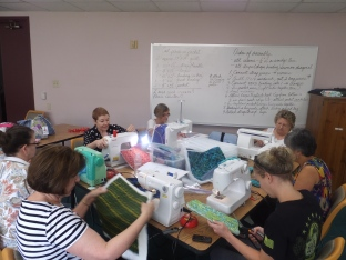 Working on purses!