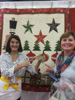 Quilt designer and Loretta