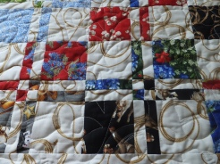 Quilted and binding done!