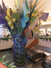 Mays Bldg. Tree Sculpture