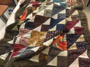 Rick's prayer quilt