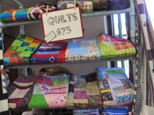 Lots of quilts for sale!
