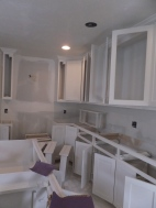 Cabinets painted Stucco
