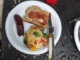 Sunday breakfast on the grill