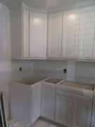 Cabinets ready for granite