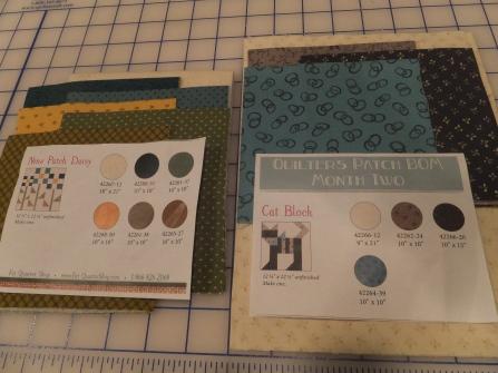 Fabric for both blocks