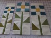 nine patch daisy block