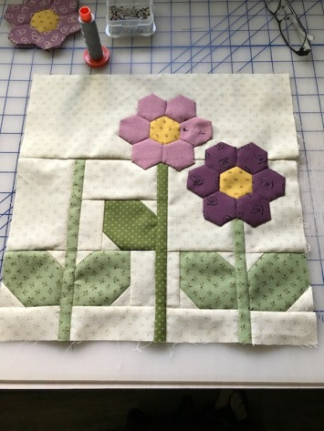Flower block amost done