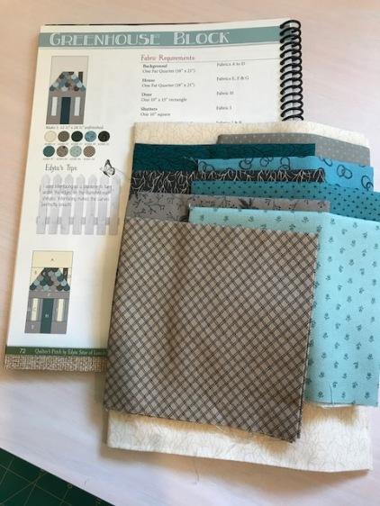 Greenhouse Block fabric