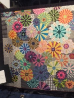 Quilt on exhibit