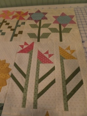 Another view of flowers blocks