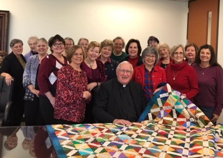 Quilt group and fr photo