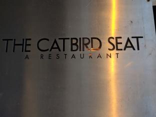 catbird seat sign
