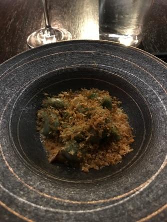 Wakame Seafood Pasta w/Scallop & Yuzu Icosho