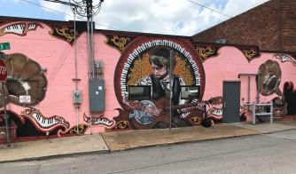 Nashville street mural