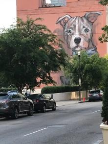 street art near Hermitage Hotel