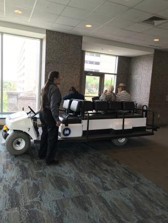 MDA golf cart