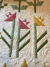 daylily quilting