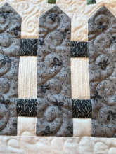quilting on fence