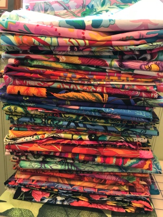 Lots of fabric choices